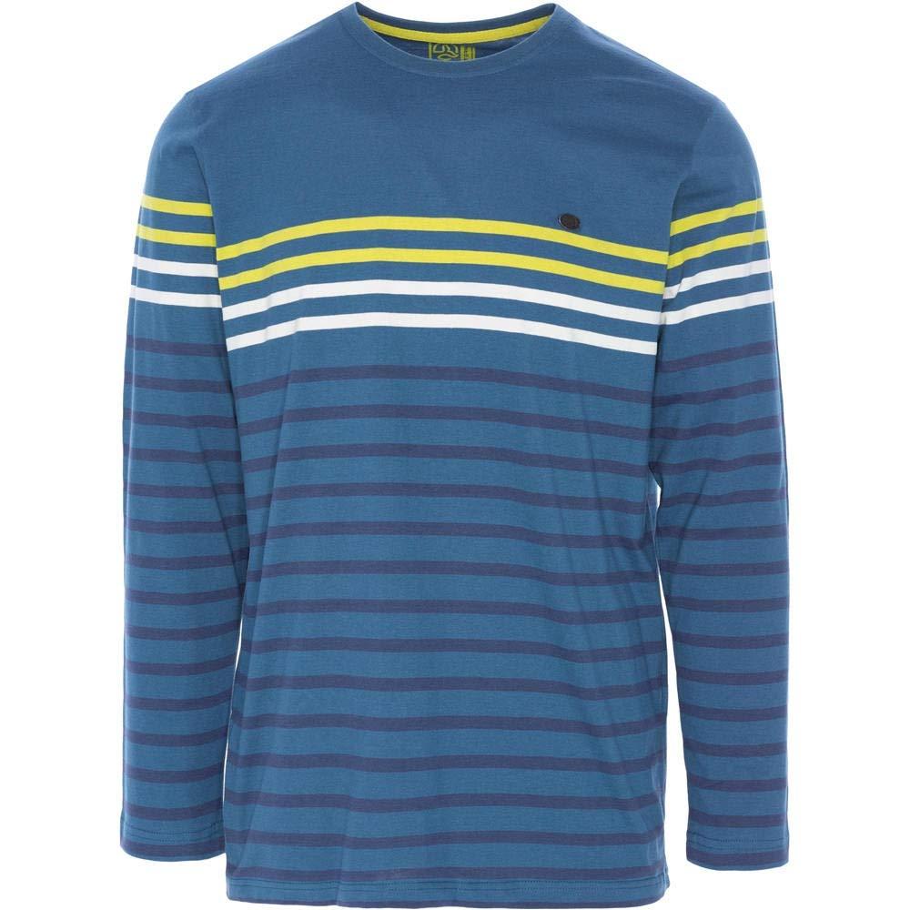 Ternua ® Azul/Rayas, Reisla Camiseta, Hombre, Azul/Rayas, ® 2XL f56d5b