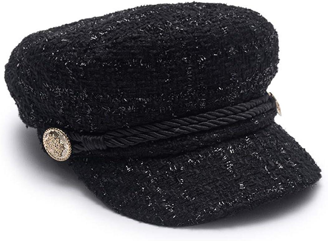 Women Newsboy Caps Hat Flat...