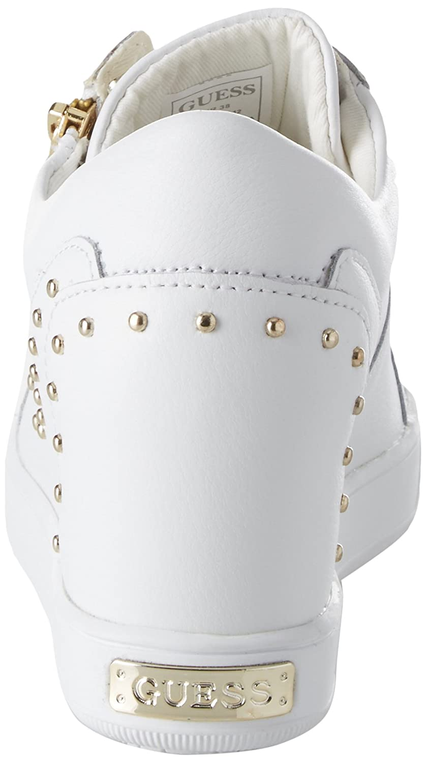 Guess Footwear Active Lady, Baskets Femme, Blanc (White