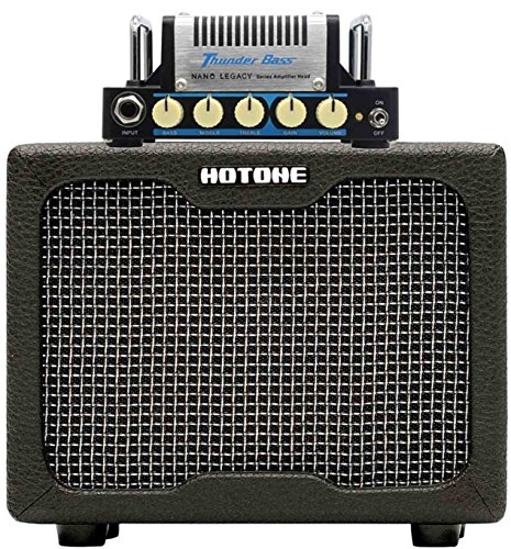 Hotone Thunder Bass Mini Bass Guitar Amplifier Head, 5 Watt (Best Boost Pedal For Tube Amp)