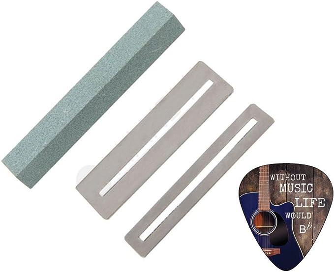 fghdf Guitar Fret Repairing Tool Set Fretboard Guard ProtectIve Shim /& Fretwire File