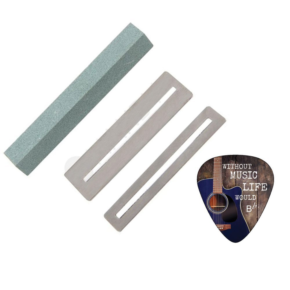指板ガードとギターのフレットファイルクリーニングツールセットCreanoso   B01G3SUTDU