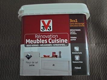 Renovation Meubles Cuisine 0 75l V33 Fleur De Sel Amazon Fr