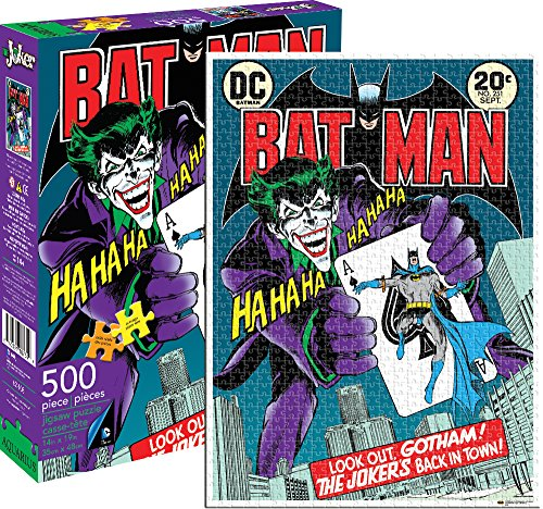 Aquarius Joker 500 Piece Jigsaw Puzzle