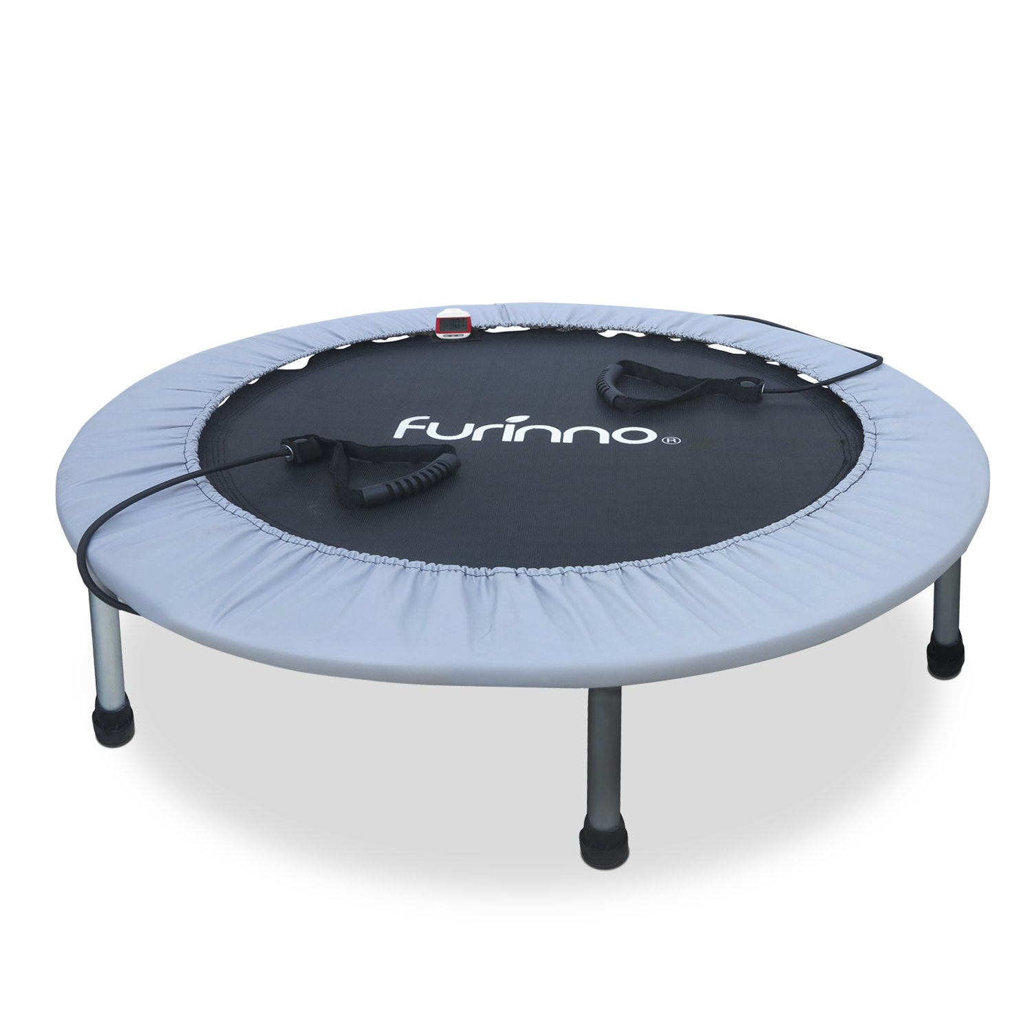 Furinno FT7138MR 38'' Trampoline with Monitor & Resistance Tube