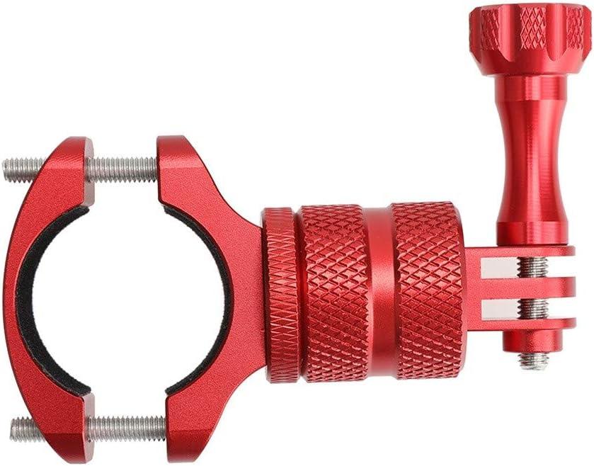 thing-ning motorcycle Bicycle Handlebar Mount Holder Adapter Bracket For DJI OSMO Action Camera Red