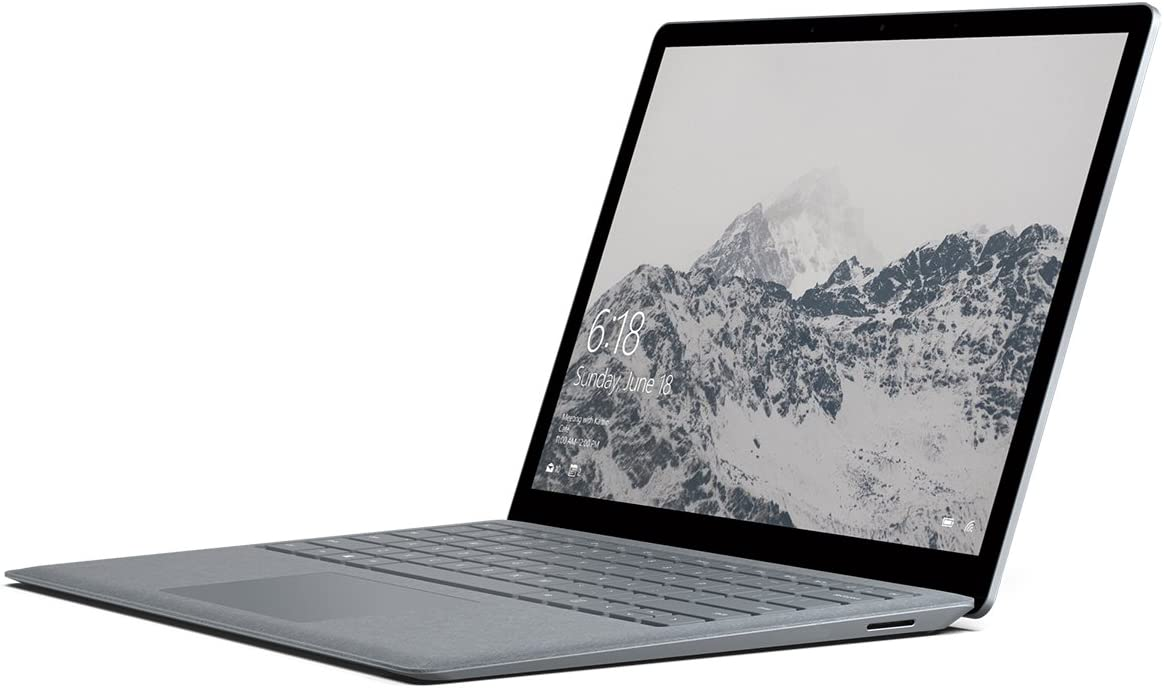 "Microsoft Surface Laptop (1st Gen) EUP-00001 Laptop (Windows 10 S, Intel Core i7, 13.5"" LCD Screen, Storage: 1000 GB, RAM: 16 GB) Platinum"