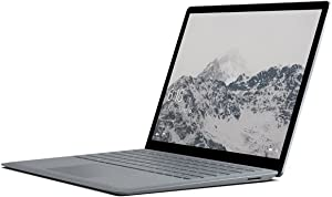 "Microsoft Surface Laptop (1st Gen) DAL-00001 Laptop (Windows 10 S, Intel Core i7, 13.5"" LED-Lit Screen, Storage: 512 GB, RAM: 16 GB) Platinum"