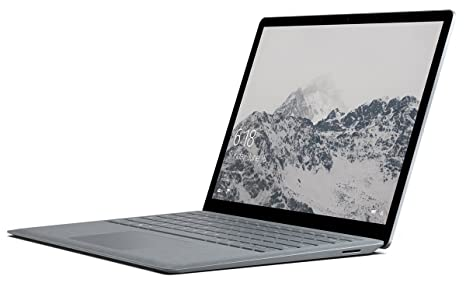 Microsoft Surface Laptop (Intel Core i7, 16GB RAM, 512GB) - Platinum Laptops at amazon