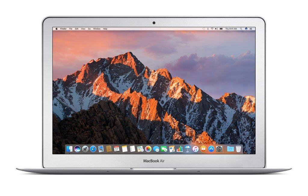 Apple 13 Inch MacBook Air Laptop (1.8GHz Intel Core i5 Dual Core Processor, 8GB RAM, 256GB SSD Storage, MacOS) Silver, MQD42LL/A