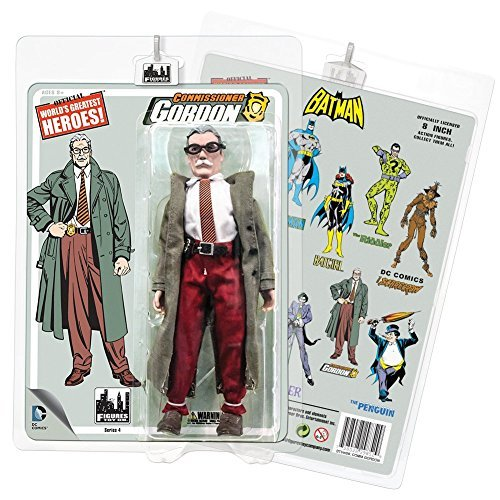 Batman Retro Inch 8 Inch Retro Action Figures Series 4  Commisioner Gordon by Figures Toy Company a4562d