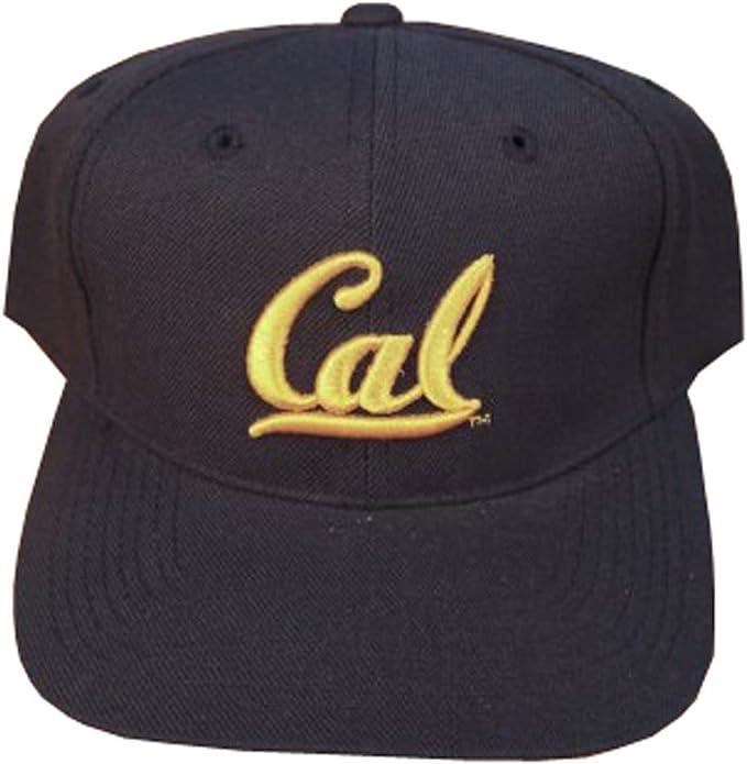 Adult Vintage Navy//Yellow Unisex 47 Brand California Golden Bears Clean Up Adjustable Hat UC Berkeley NCAA Cap