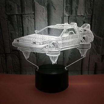 Lámpara de mesa táctil para acrobacias de motocicleta LED 7 ...