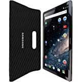 """Skinomi TechSkin - Samsung Galaxy View Screen Protector 18.4"""" + Carbon Fiber Full Body Skin with / Front & Back Wrap Clear Film / Ultra HD and Anti-Bubble Invisible Shield"""