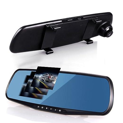2 opinioni per Vetrineinrete® Specchietto retrovisore per auto con telecamera integrata che