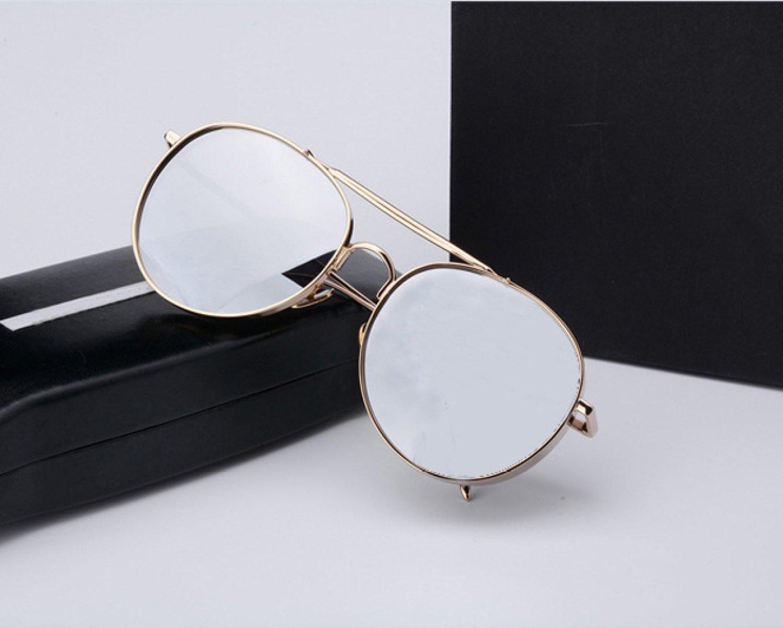 GAOQIANG Gafas De Sol Polarizadas Alpine Mirror Female Sunglasses,A1