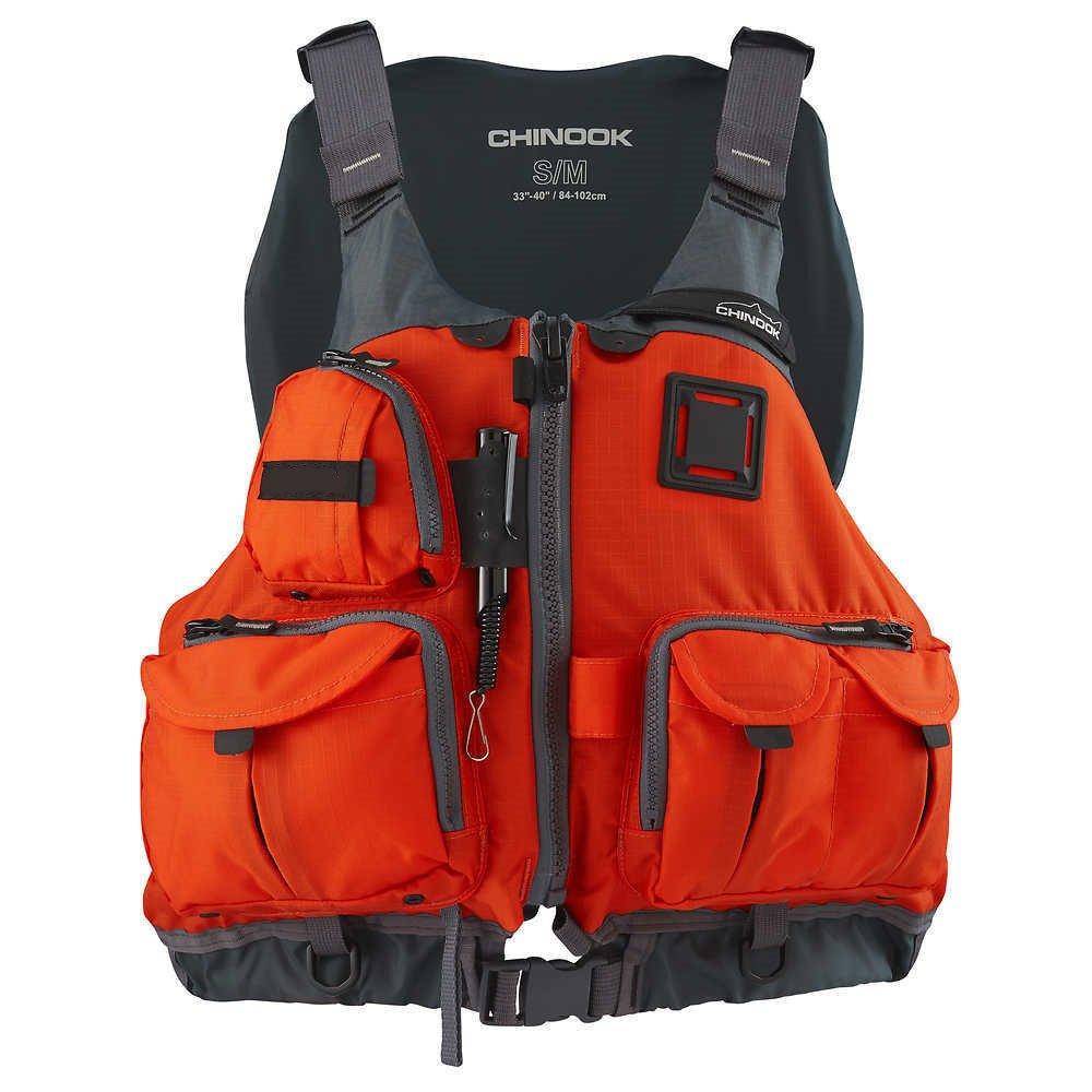 oldzon 大人用 Chinook 釣りボート PFD S/M 安全ライフジャケット オレンジ 電子書籍付き   B07FC8SYYD
