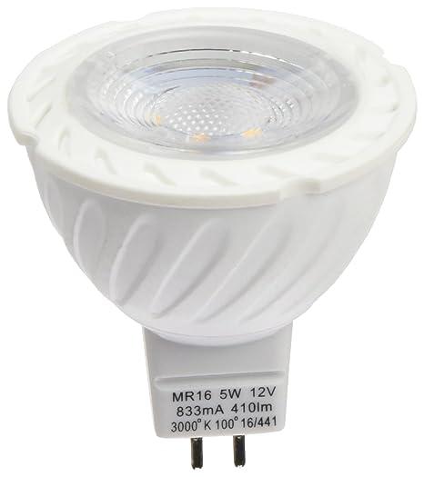 RLED Pack de Bombillas LED SMD, Luz Cálida GU5.3, 5 W,