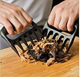 Bear Claw Meat Shredder Barbecue Meat Claw - Shredding Handling & Carving Food - Claw Handler Set for Pulling Brisket from Grill Smoker or Slow Cooker - BPA Free Barbecue Paws