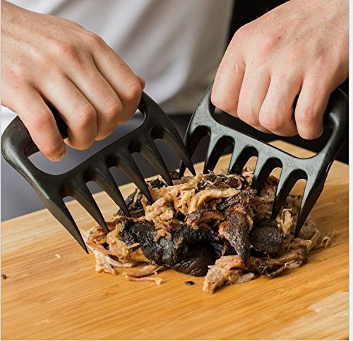 Claw Dinner - Bear Claw Meat Shredder Barbecue Meat Claw - Shredding Handling & Carving Food - Claw Handler Set for Pulling Brisket from Grill Smoker or Slow Cooker - BPA Free Barbecue Paws