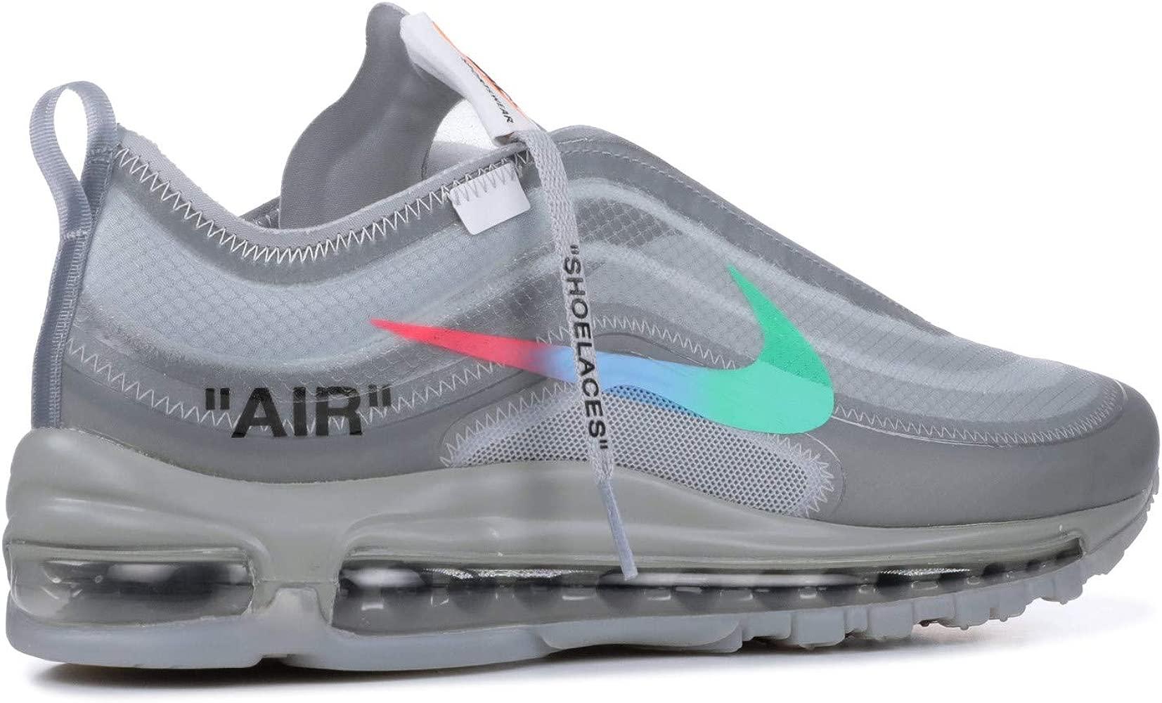 Nike The 10 AIR MAX 97 OG 'Off White' AJ4585 101 Size