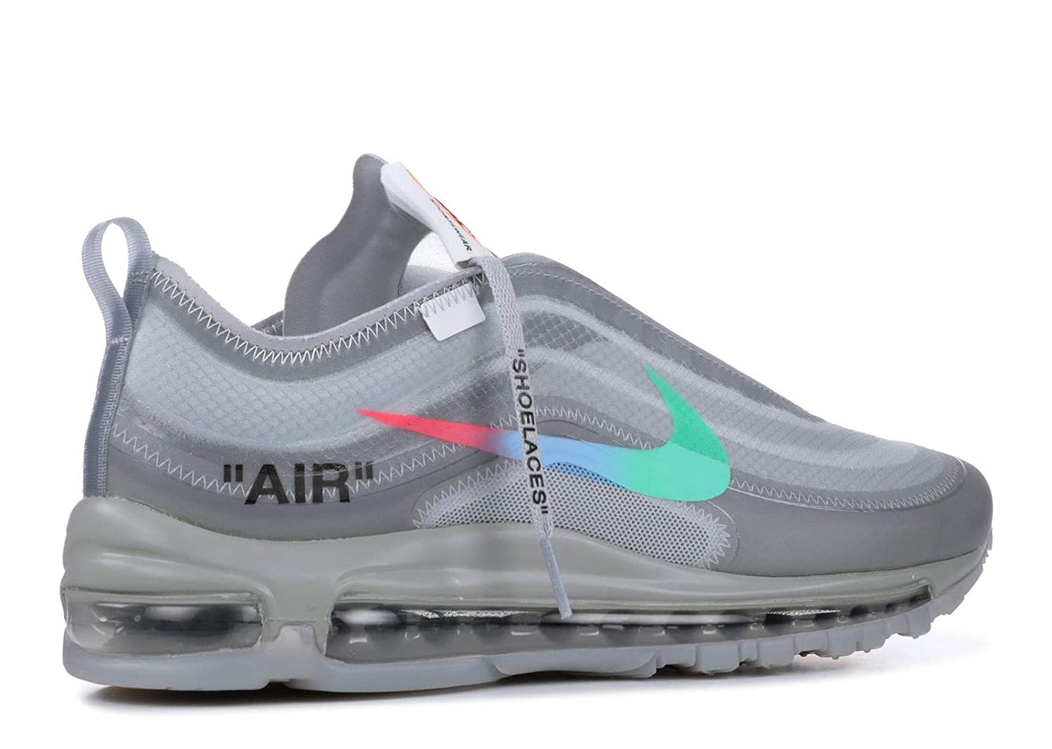 new style 92641 28a58 Amazon.com | Nike The 10 Air Max 97 Og 'Off White' - Size 4 ...
