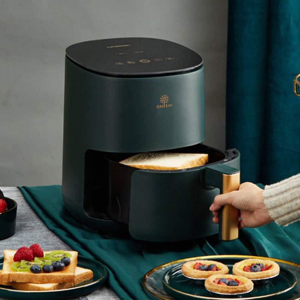 yong 2.5 Quart Air Fryer, Electric Hot Air Fryers XL Oven Oilless Cooker,Nonstick Detachable Basket,1400W