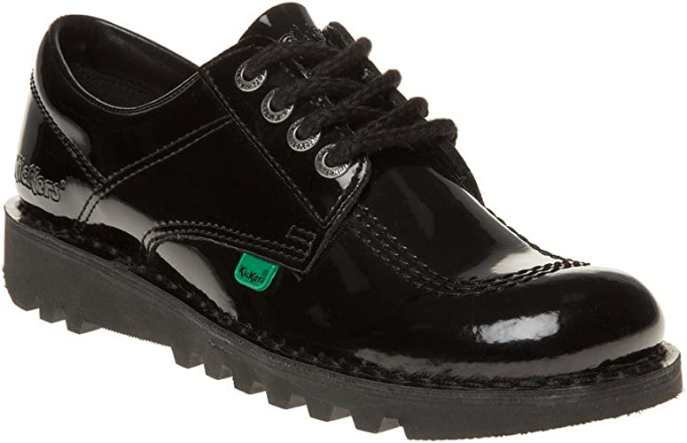 Kickers Kick Lo Womens Patent Leather