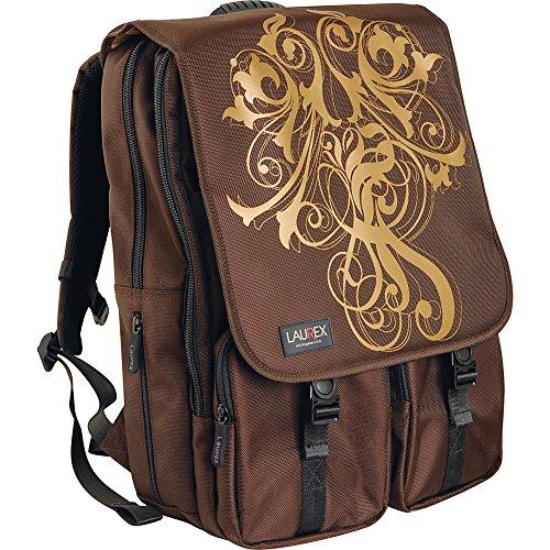 laurex-156-laptop-backpack-gold-wave-brown