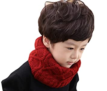 New Winter Warm Boys Girls Collar Baby Scarf Children Stars O Ring Neck Scarves Kids Scarf Warm And Windproof Boy's Scarves Boy's Accessories