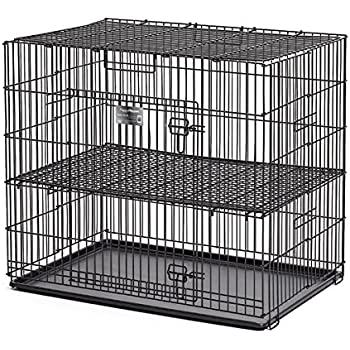 MidWest Puppy Playpen with 1/2 Inch Mesh Floor Grid, 24