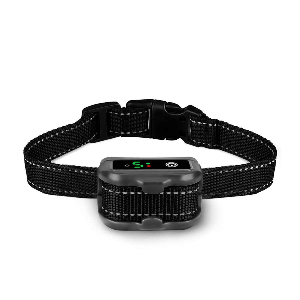 ieGeek Rechargeable Dog Bark Collar, Anti-Barking Collar with Beep, Vibration  Static Shock Modes,No Shock and Bark Collar E-collar IP67 Waterproof, Easy to Use for Small, Medium and Large and Dogs