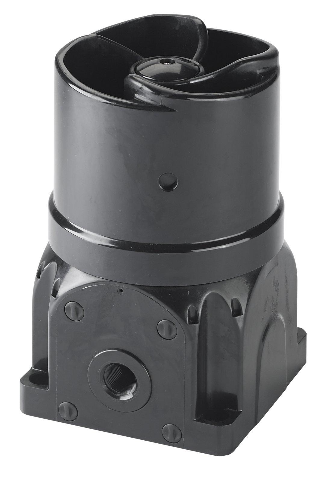 Federal Signal G-SND-MV-D Global Series Sounder, Multi-Tone, Multi-Voltage, Surface Mount, Black