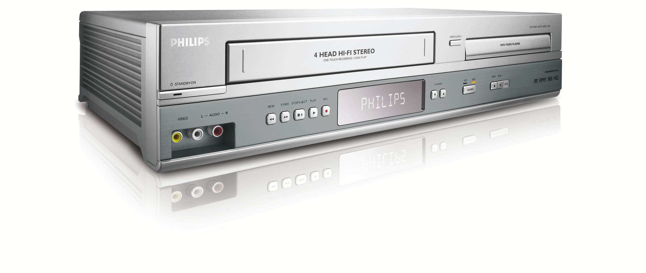 Philips DVP3150V HiFi DVD/VCR Combo by PHILIPS