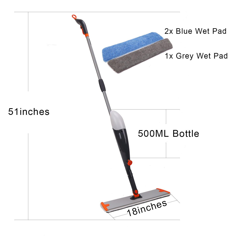 Floor Mop and Microfiber Mop w...