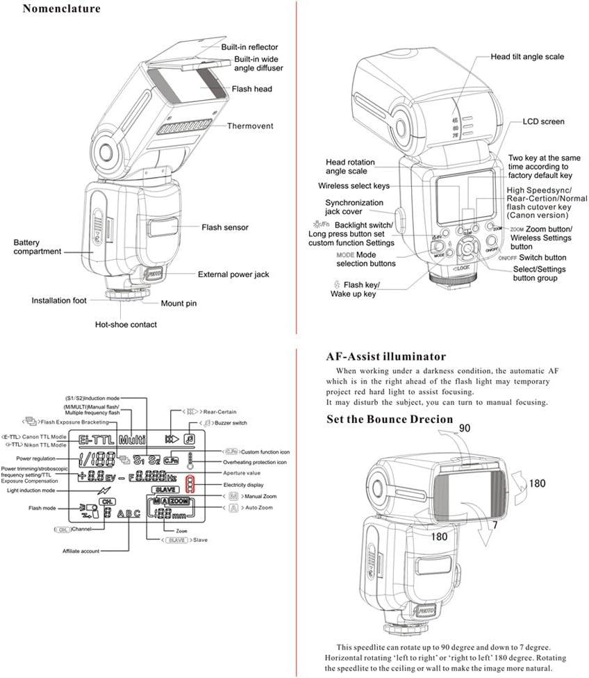 Triopo Tr 586ex Wireless Blitz Blitzgerät Ttl Mode Kamera