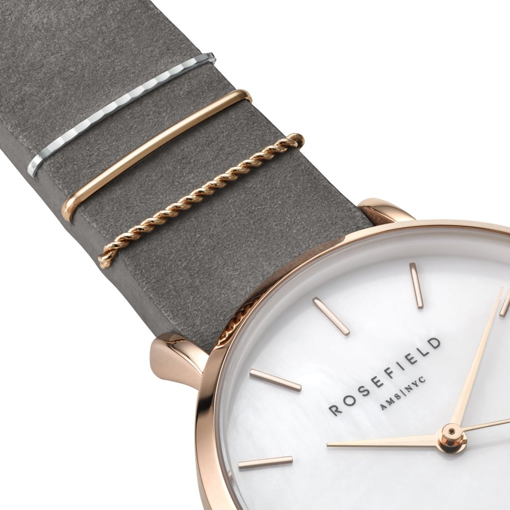 rosef - Reloj de Pulsera Elefante Gris The West Village wegrs de s142: Amazon.es: Relojes