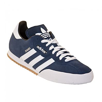 Mens Adidas Samba Super Suede Trainer Navy Blue Deadstock Retro Trainers UK  9  Amazon.co.uk  Shoes   Bags f6111e80b