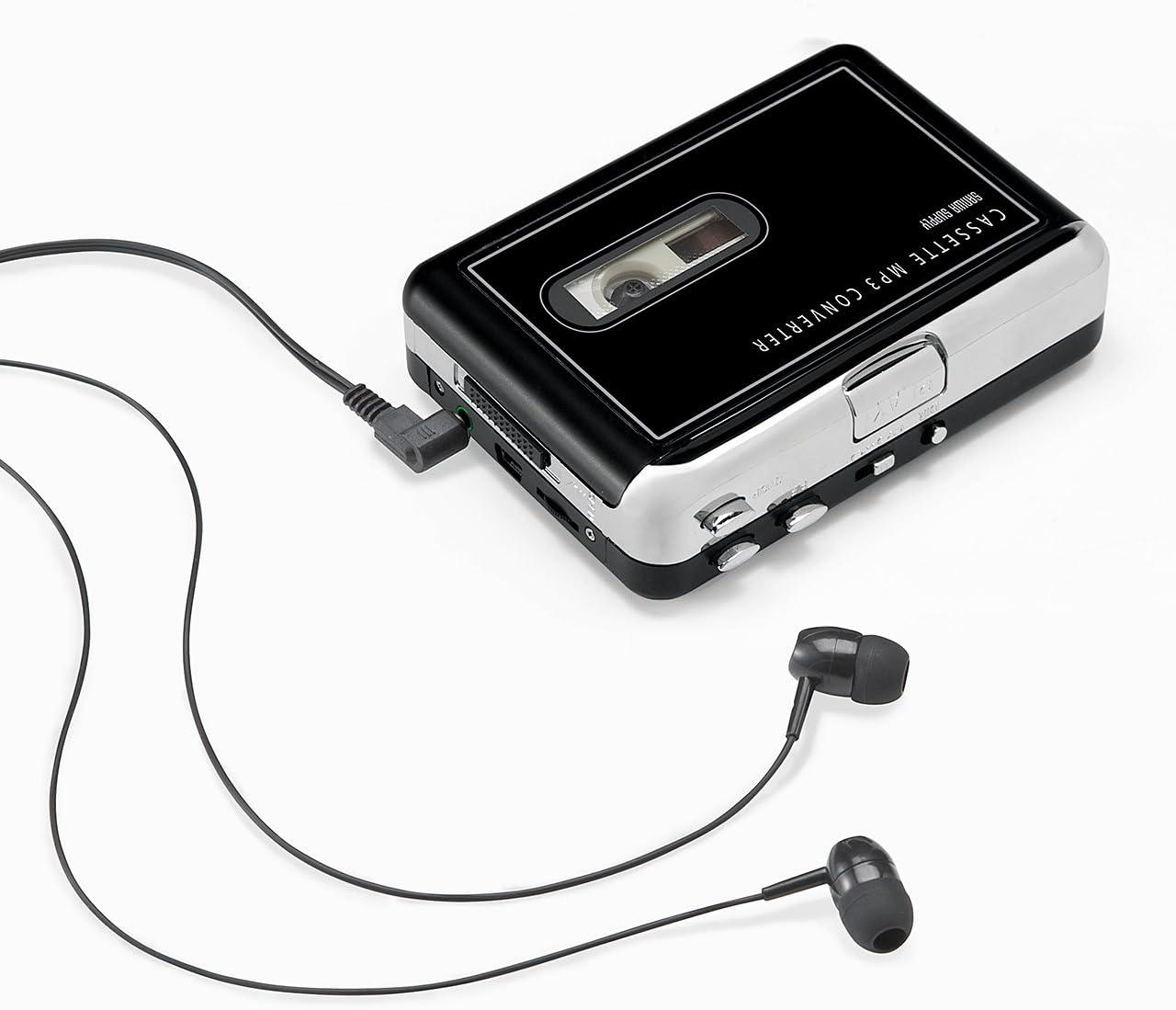 出典: Amazon『サンワダイレクト カセットテープ MP3変換プレーヤー カセットテープデジタル化 コンバーター 400-MEDI002』