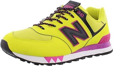 Enredo amenazar Transitorio  New Balance 574 Zapato deportivo para mujer: Amazon.es: Zapatos y  complementos