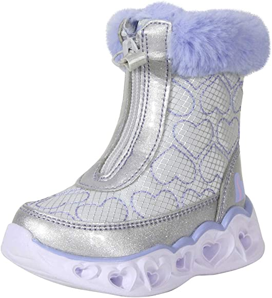 Light Up Boots Shoes Sz