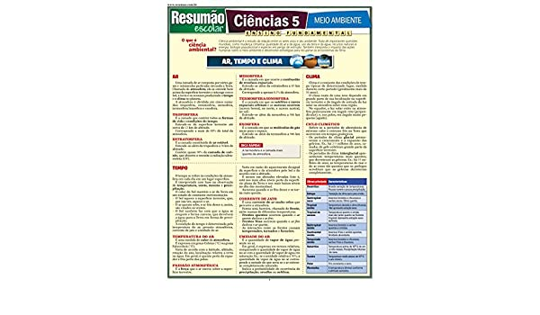 Ciências 5. Meio Ambiente: Vários Autores: 9788577111923: Amazon.com: Books