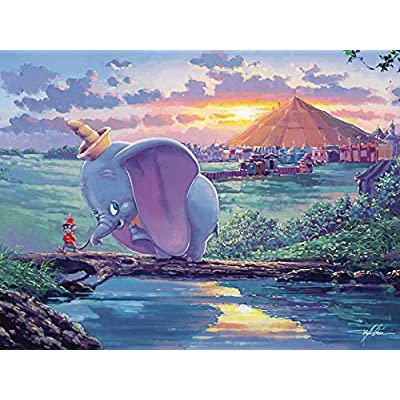 Ceaco Disney Dumbo Fine Art Unlikely Friends Puzzle 550 Piece By Ceaco