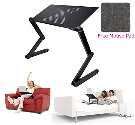 Incredible Portable Adjustable Laptop Computer Notebook Desk Stand Folding Laptop Table Book Reading Holder Lightweight Ergonomic Sofa Couch Bed Lap Tray Desk Squirreltailoven Fun Painted Chair Ideas Images Squirreltailovenorg