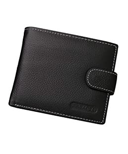 2018 New Leather Men Wallets, High-capacity Zipper Design Purses, Solid Sample Style Multi Card Holder for Men Wallets