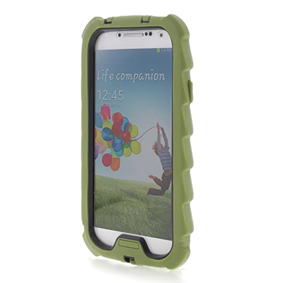 premium selection 99b91 373df Gumdrop DropTech Case Designed for Samsung Galaxy S4 Phone for K-12  Students, Teachers, Kids - Army Green, Rugged, Shock Absorbing, Extreme  Drop ...