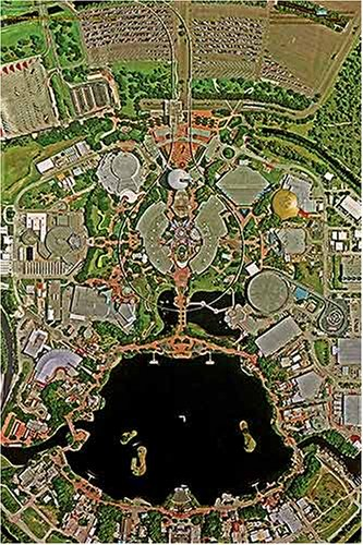 Amazon Com Walt Disney World Epcot 24 X 36 Aerial Photo Art