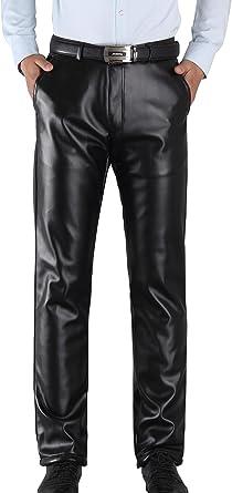 pantalon homme en cuir