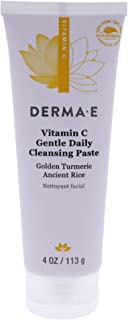 product image for DERMA E Vitamin C Cleansing Paste, 4 OZ