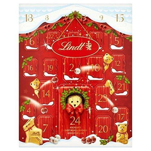 Lindt Bear Advent Calendar 250g - Pack of 2 by Lindt